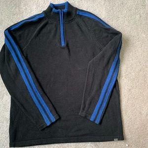 Eddie Bauer Quarter Zip XLT Men's Sweater